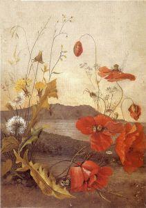 'Poppies',_oil_on_canvas_painting_by_Princess_Ka'iulani,_1890